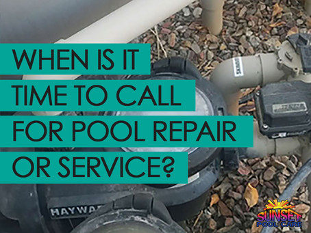 When Is It Time to Call For Pool Repair & Service?
