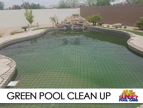 green pool clean up gilbert