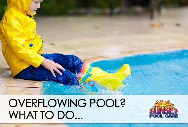 help, my pool is overflowing