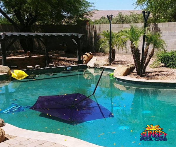 monsoon pool cleaning