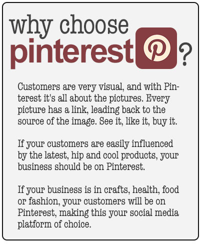 why choose pinterest for business