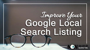 Improve Your Local Google Listing