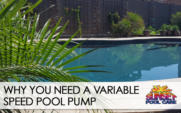 why variable speed pool pumps are better
