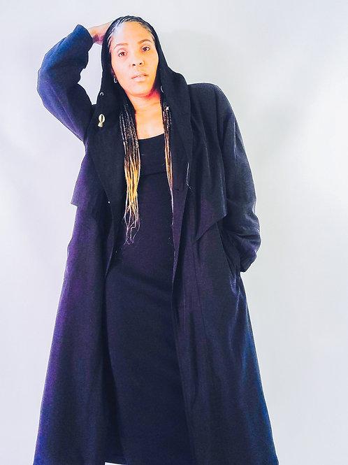 Josephine Hooded Trench Coat