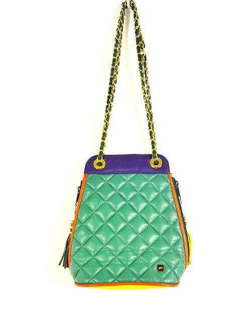 Multi Quilted Handbag