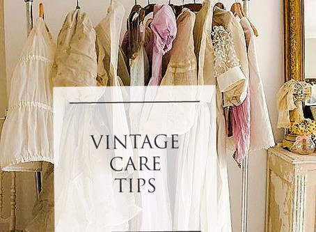 How to Care for Your Vintage Clothing