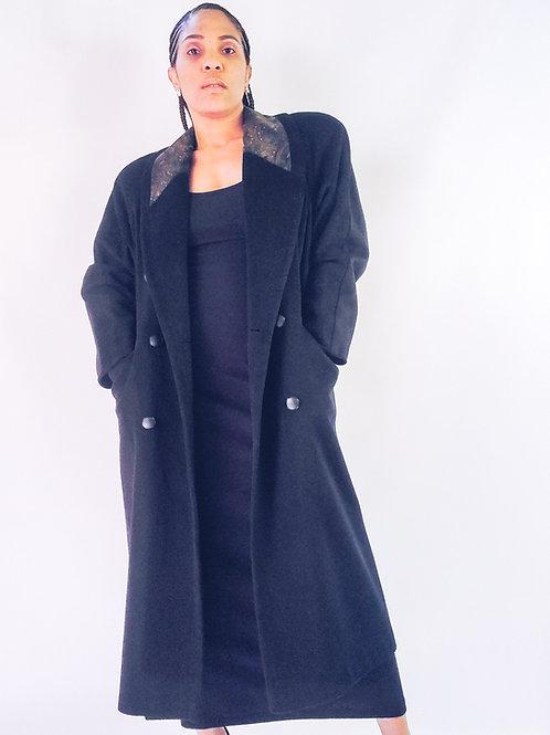 Mira Paisley Trench Coat