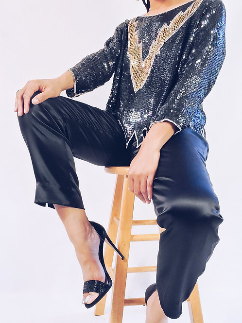 Dana Buchman Silk Pants