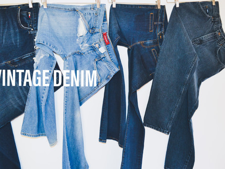 Your Ultimate Buying Guide For Vintage Denim