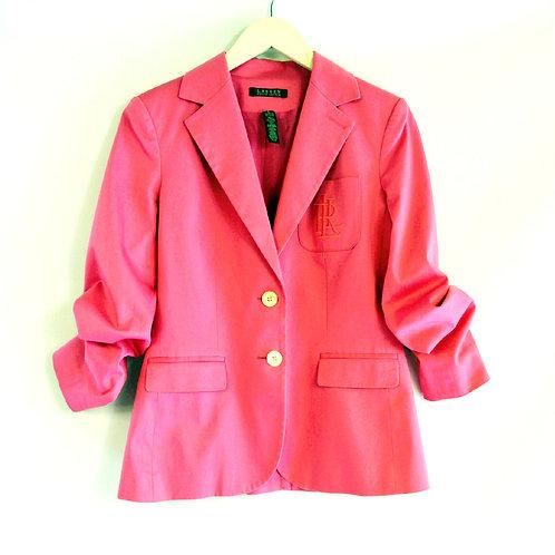 Pink Ralph Lauren Blazer