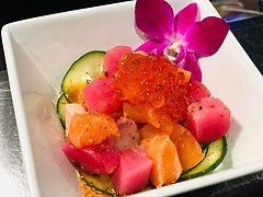 Sunomono. Cucumber Salad, Ponzu, Ikura T