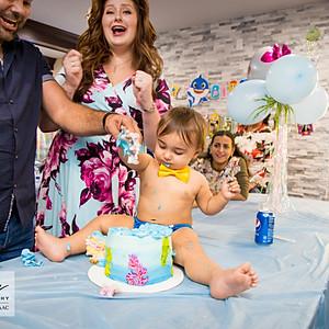 Leonardo Ibrahim 1st Birthday part 2