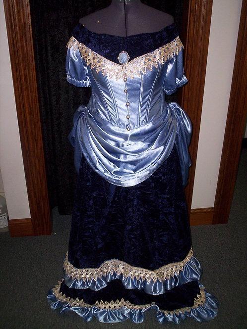 1890's Bustle Dress