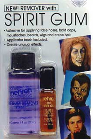 Mehron Spirit Gum and Remover Combo