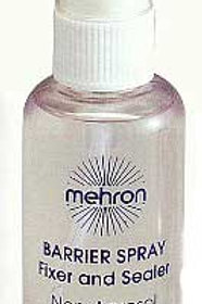 Mehron's Barrier Spray