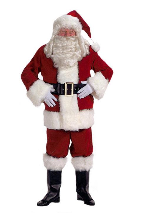 Velvet Santa Claus