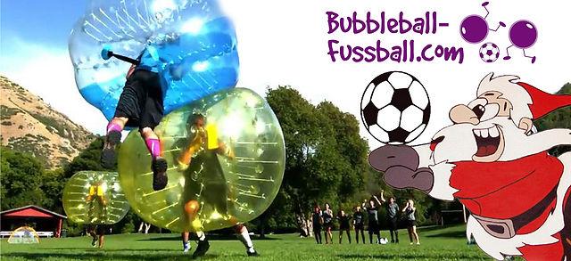 Weihnachtsfeier Dresden Sport Bubbleball Fussbal