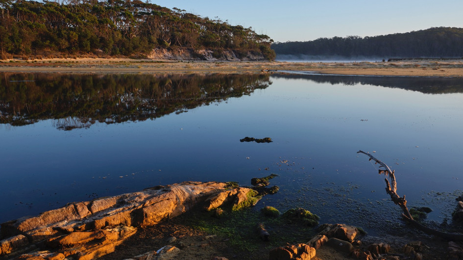 Middle Lagoon, Mimosa Rocks National Park NSW