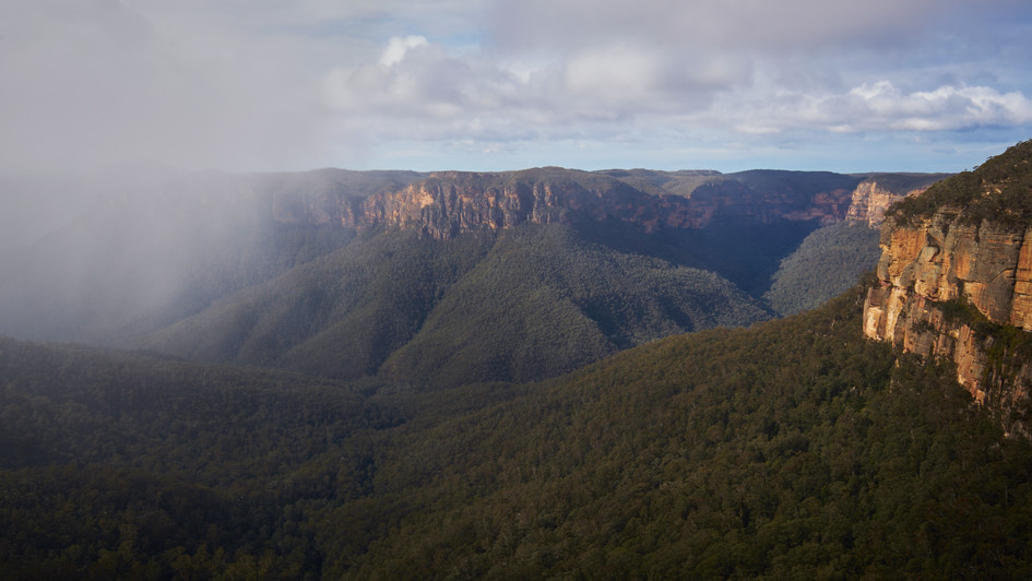 Snowshower, Blue Mountains National Park, NSW