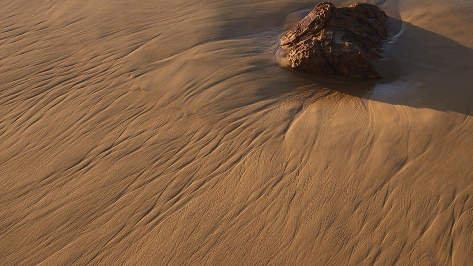 Striations, Mimosa Rocks National Park NSW