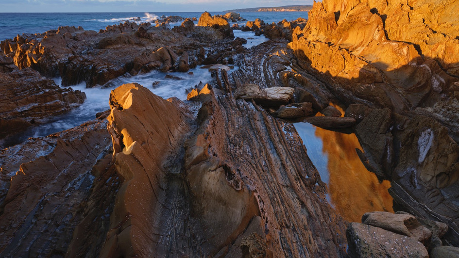 Dragons Backbone, Mimosa Rocks National Park NSW