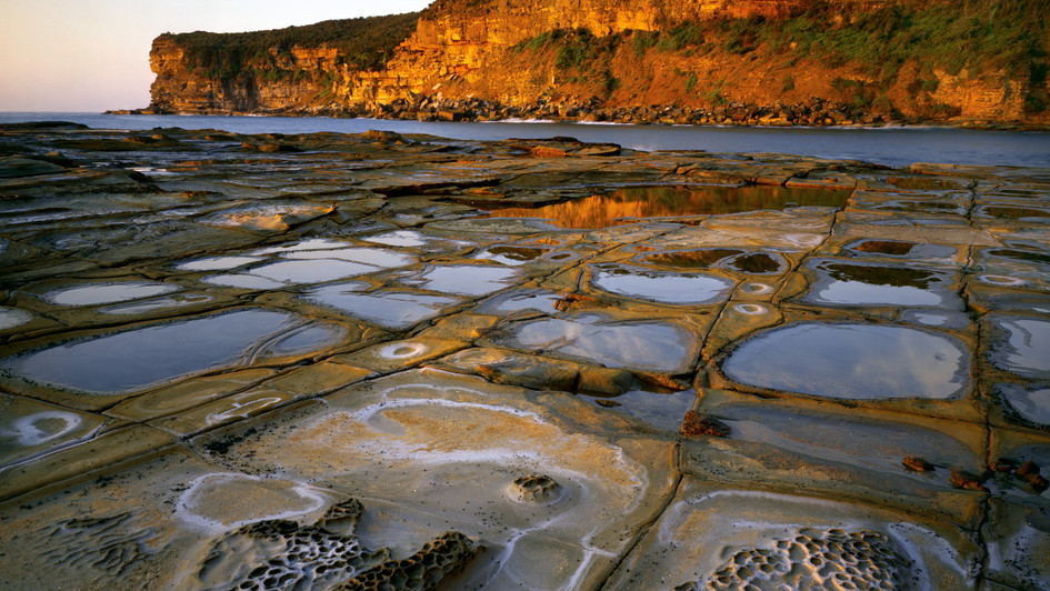 Tesselated Reflections, Bouddi National Park NSW