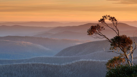 Afternoon Pastels, Alpine National Park, Victoria