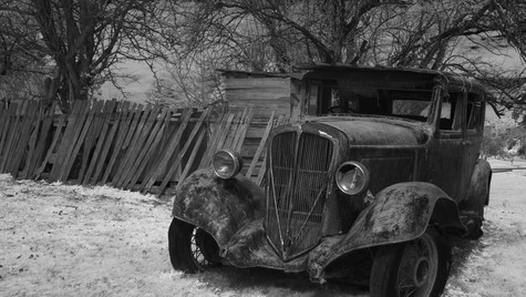 Parked, Hill End NSW