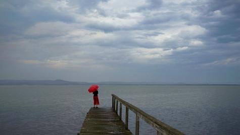Red Umbrella, Long Jetty NSW
