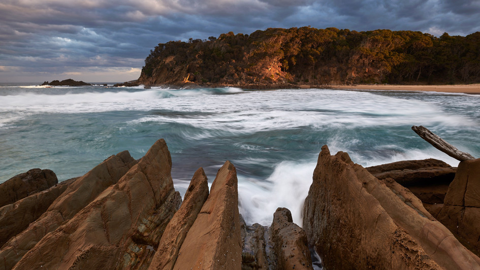 Weathered, Mimosa Rocks National Park NSW