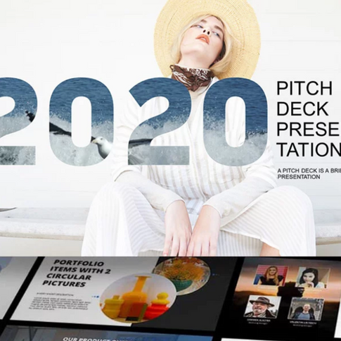 45+ Pitch Deck Powerpoint Templates in 2020: Free and Premium. How To Create A Pitch Deck
