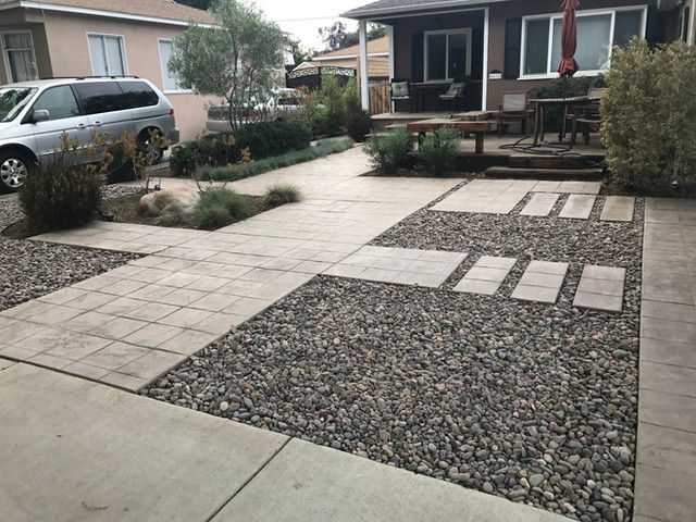 Frontyard Landscape Renovation