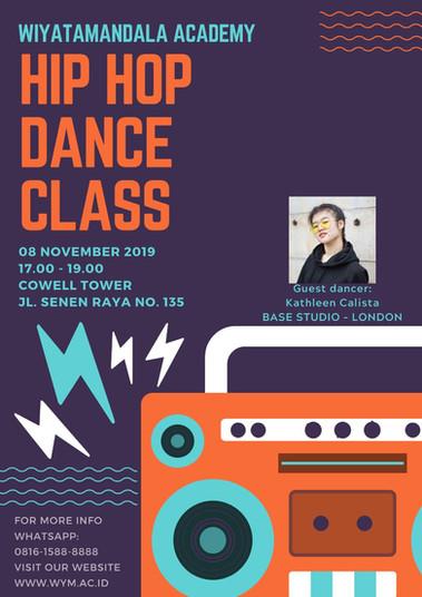 Hip Hop Dance Class (Internal WYM Only)