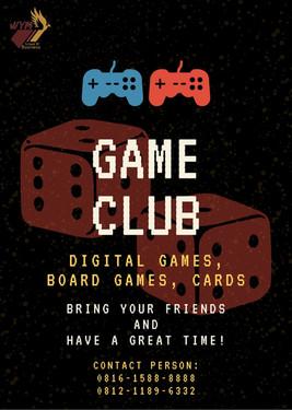 Game Club (Internal WYM Only)