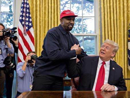 Trump, Kanye e o espetáculo feito política
