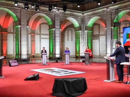 Para quando debates presidenciais?