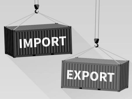 A balança comercial portuguesa