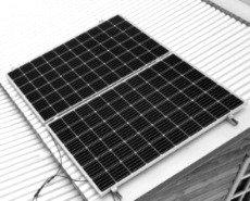 Комплект для крепления солнечных панелей на кровлю (регулируемый 10-15 гр)