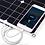 Thumbnail: Гибкая панель 50Вт с выходом USB 5V/2A для заряда мобильных устройств
