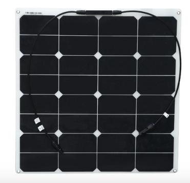 Гибкая монокристаллическая панель 50Вт SUNPOWER