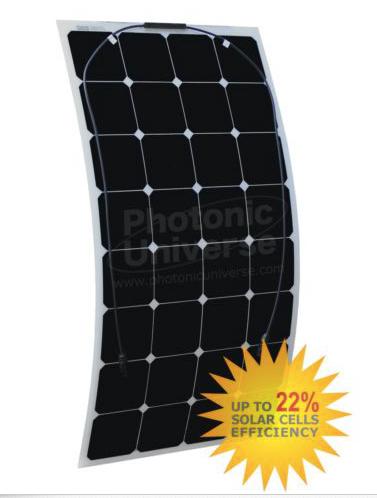 Гибкая монокристаллическая панель 110Вт SUNPOWER