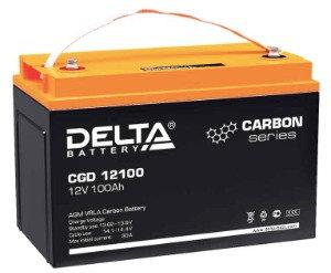 AGM+CARBON  DELTA CGD 12100 12V/100Ah
