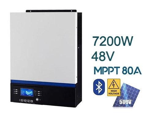 Гибридно-сетевой инвертор SILA MAX 7200MH ( PF 1.0 )