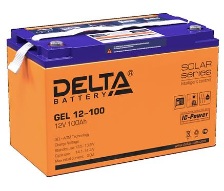 GEL DELTA GEL 12100 12V/100Ач