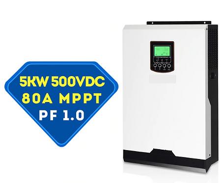 Гибридный инвертор MPS-VM5K (PF-1.0) 5000VA/5000W/48V/MPPT 80A/140А