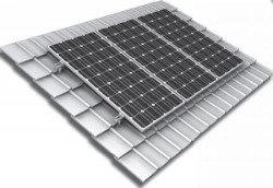 Комплект для крепления солнечных панелей на кровлю 3100мм (не регулируемый)