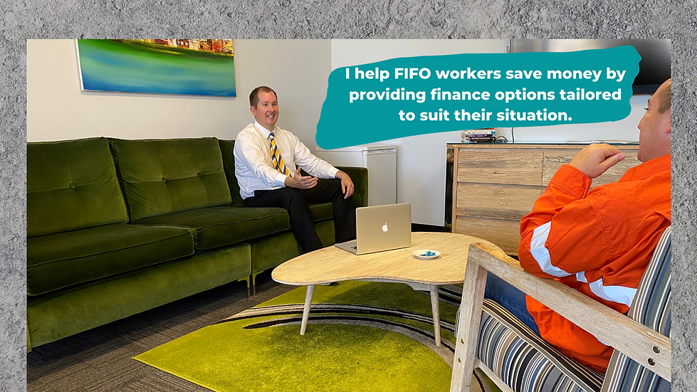 I help FIFO workers save money by provid