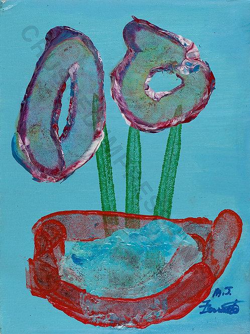 Oval Flowers