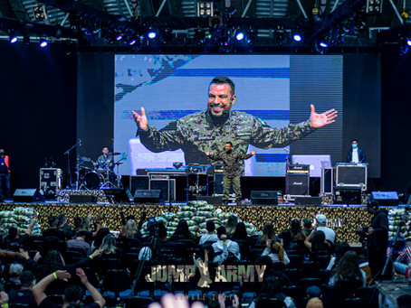 JUMP ARMY: Juventude com a patente de Cristo Jesus