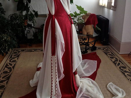 Art Gowns: Goddess Mnemosyne & the Nine Muses